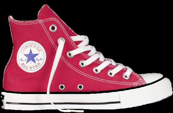 Converse All Star Высокие красные