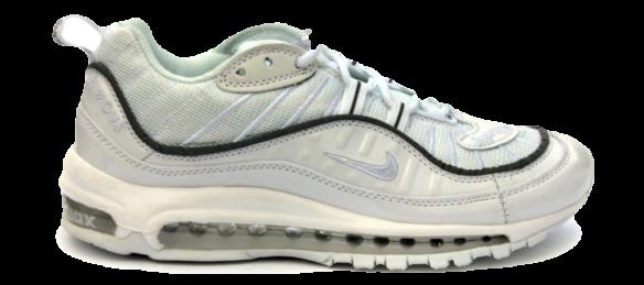 Nike Air Max 98 x Supreme Белые