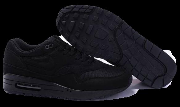 Nike Air Max 87 Черные замшевые