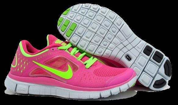 Nike Free Run 5.0 Розовые