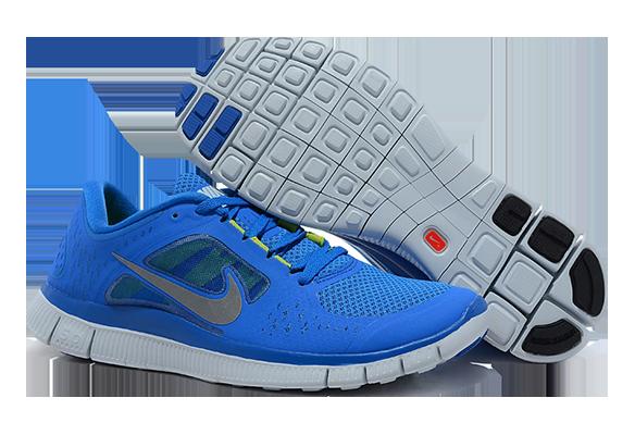 Nike Free Run 5.0 Женские синие