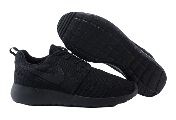 Nike Roshe Run Черные