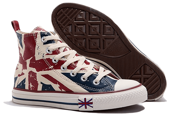 Converse Chuck Taylor All Star High Британский флаг