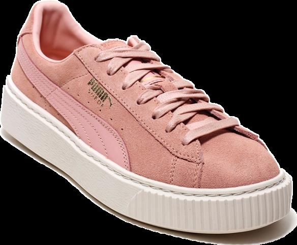 Puma Suede Platform Розовые