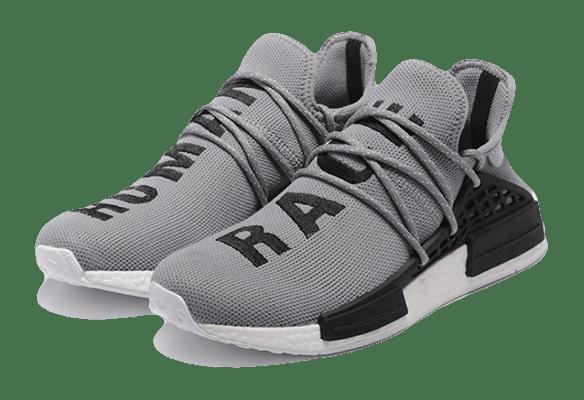 Adidas NMD Human Race Серые с черным