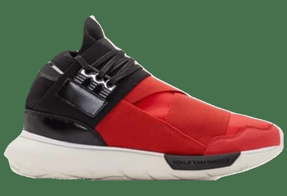 Adidas Y-3 Qasa High Черно-красные