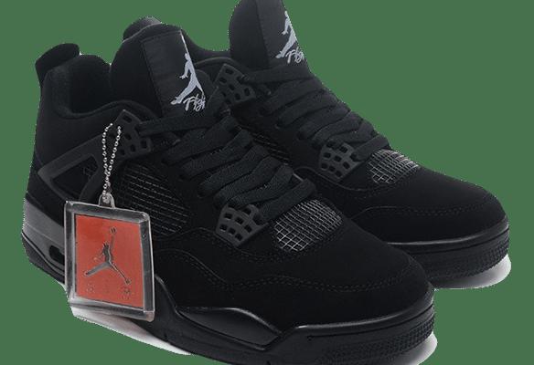 Nike Air Jordan 4 Retro Черные