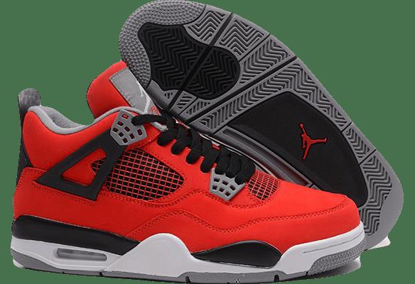 Nike Air Jordan 4 Retro Красные