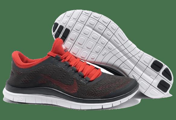 Nike Free Run 3.0 V5 красно-серые