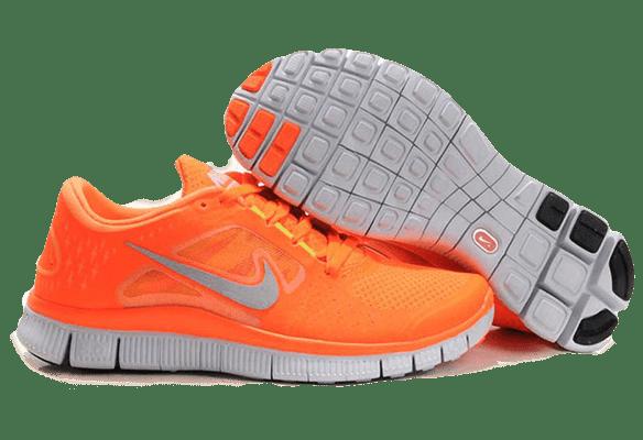 Nike Free Run 3.0 оранжевые