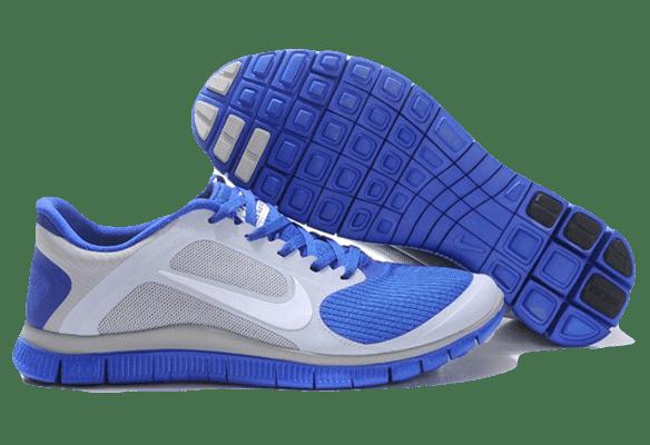 Nike Free Run 4.0 сине-серые