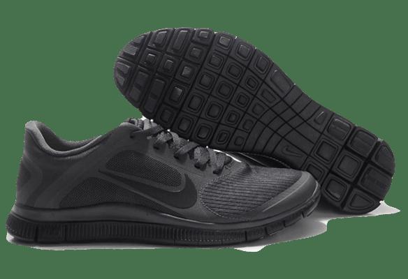 Nike Free Run 4.0 темно-серые