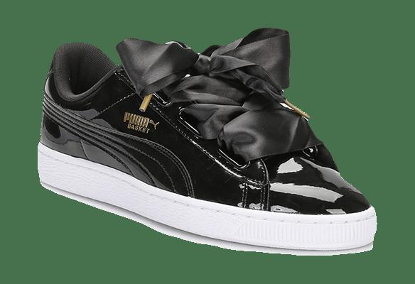 Puma Basket Heart черные