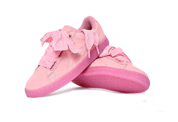 Puma Suede Heart Reset Розовые