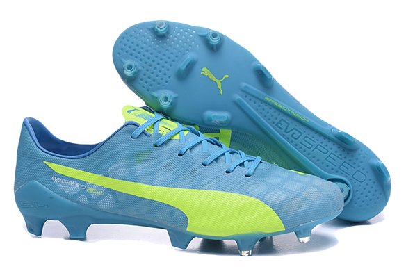 Puma Evospeed 1.4 SL FG Soccer Boots Голубые
