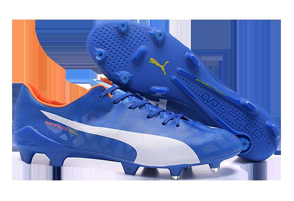 Puma Evospeed 1.4 SL FG Soccer Boots Синие