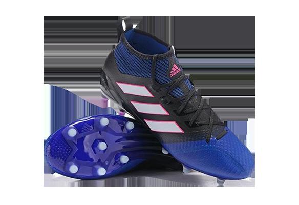 Adidas Ace 17.1 Priemknit FG Синиe с Черным