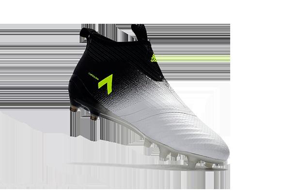 Adidas Ace 17+ Purecontrol FG Черные с Белым