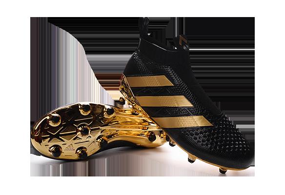 Adidas Ace16+ Purecontrol Черные с Золотым