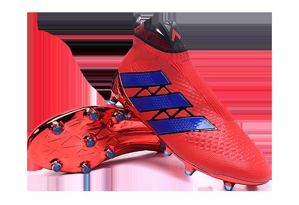 Adidas Ace16+ Purecontrol Красные с Синим