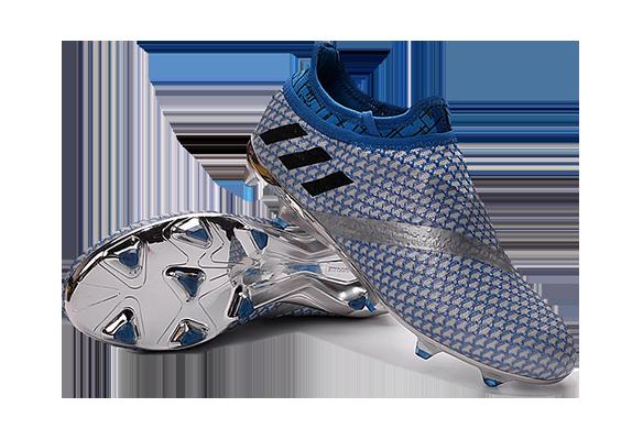 Adidas Messi 16+ Pureagility FG/AG Серые