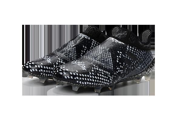 Adidas X 16+ Purechaos FG/AG черно-белые