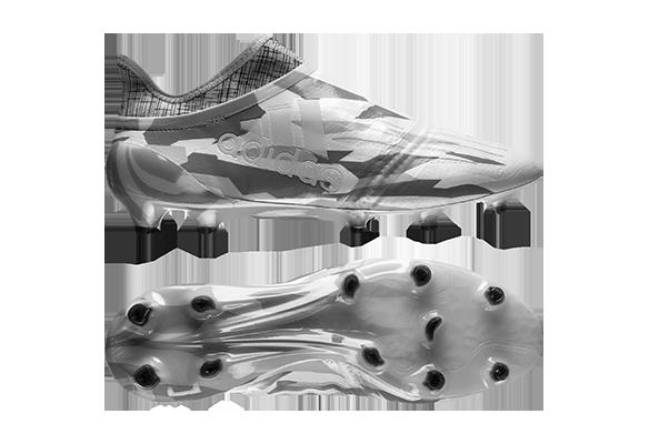 Adidas X 16+ Purechaos FG/AG Серые