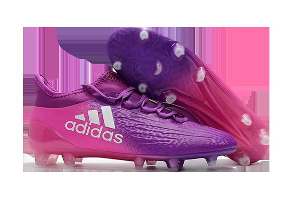 Adidas X 16.1 FG/AG Фиолетовые с Розовым