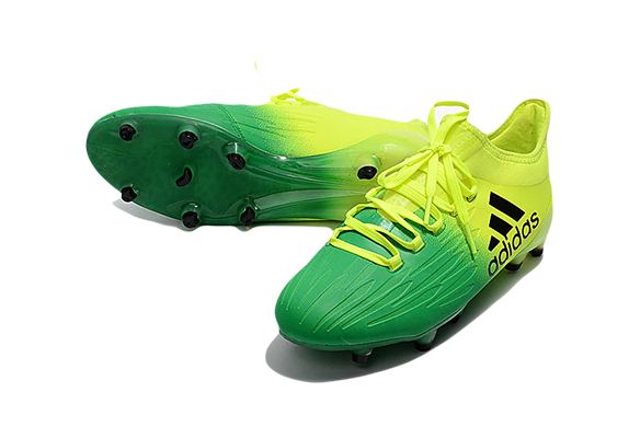 Adidas X 16.1 FG/AG Зеленые с Желтым