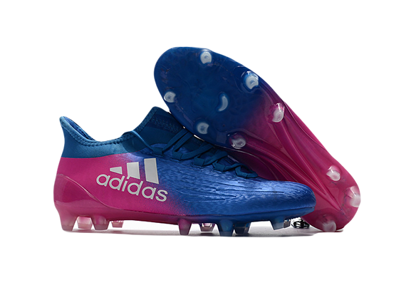 Adidas X 16.1 FG/AG Синие с Розовым
