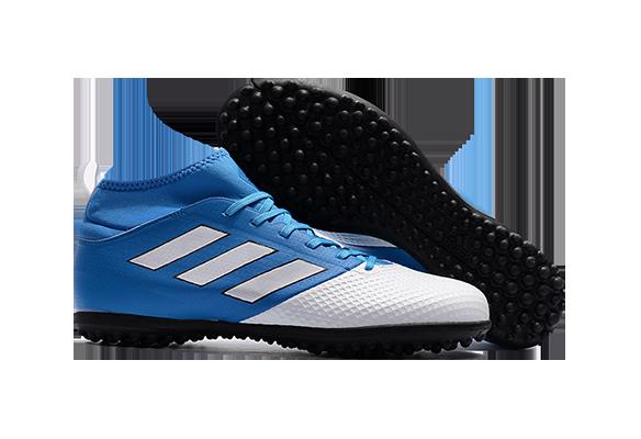 Adidas Ace 17.3 Primemesh Turf Soccer Boots Light Blue Black