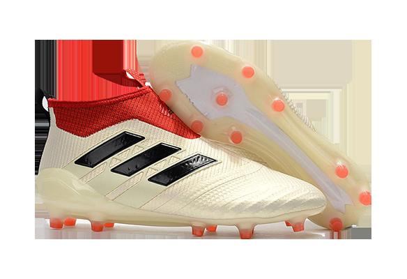 Adidas Ace 17+ Purecontrol FG Бежевые с Красным