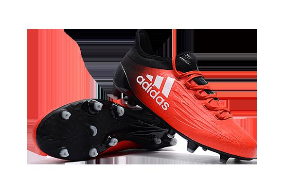 Adidas X 16.1 FG/AG Черно-Красные