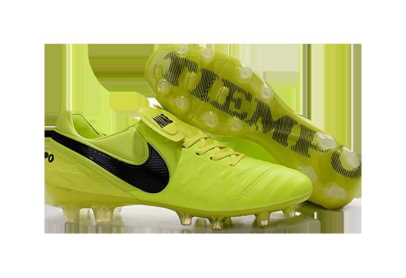 Nike Tiempo Legend V FG Салатовые