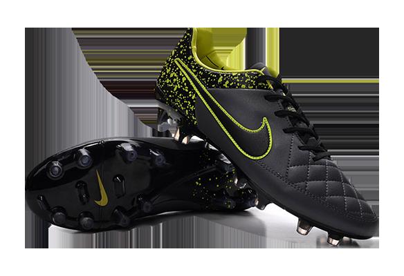 Nike Tiempo Legend V Ronaldinho Черные
