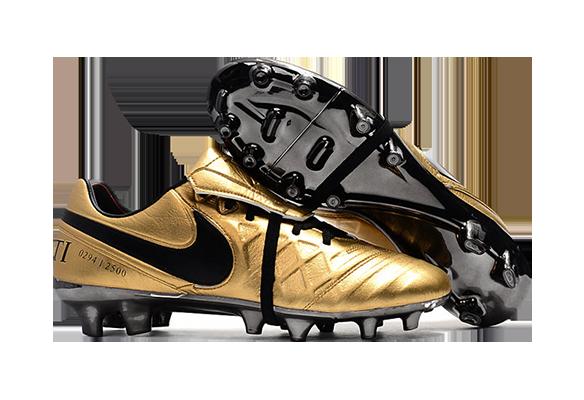 Nike Tiempo Totti X Roma Золотые