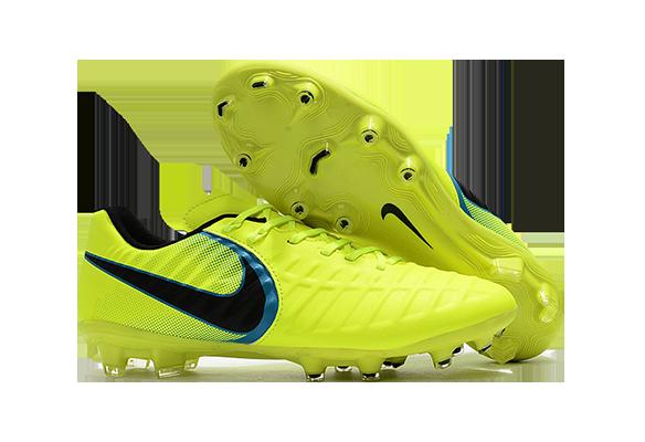 Nike Tiempo VII FG Салатовые