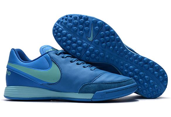 Nike Tiempo Mystic V TF Синие