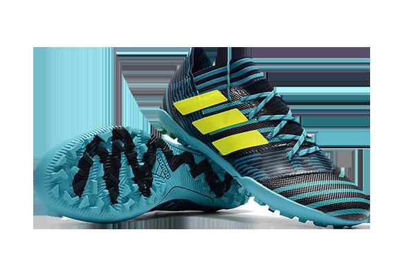 Adidas Nemeziz 17.1 TF Голубые с Черным