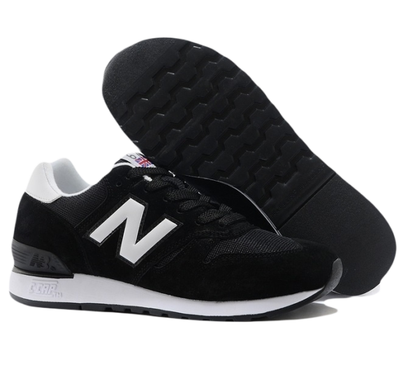 New Balance 670 Черные Замша