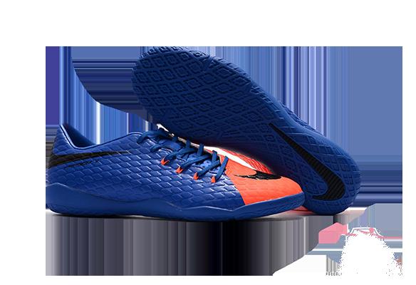 Nike Hypervenom IC Синие с Оранжевым