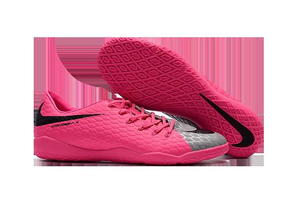 Nike Hypervenom IC Розовые с Серым