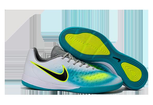 Nike Magista II IC Белые с Голубым