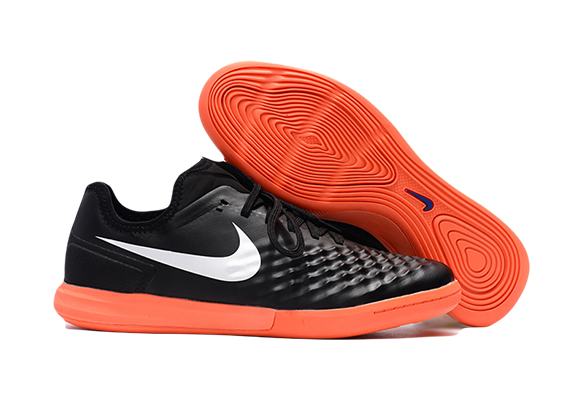 Nike MagistaX Finale II IC Черные с Оранжевым