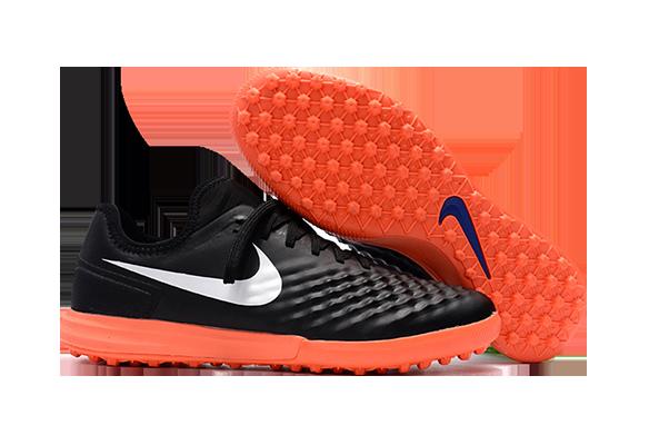 Nike MagistaX Finale II TF Черные с Оранжевым