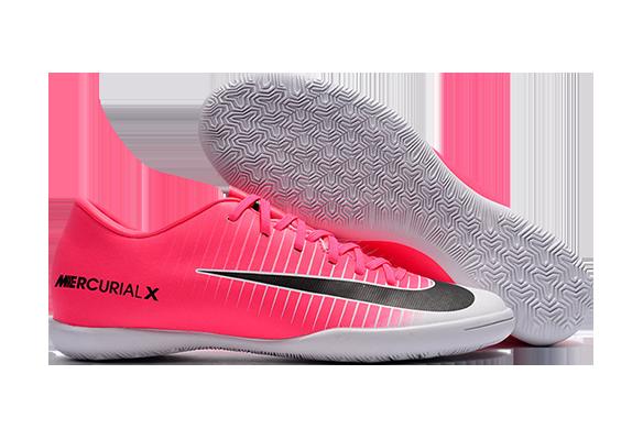 Nike Mercurical Victory VI IC Розовые с Белым