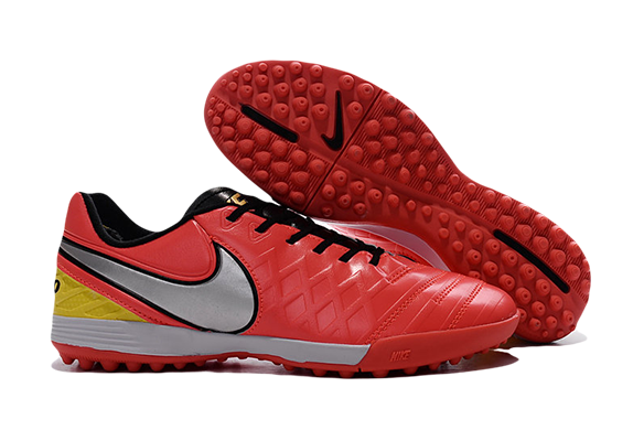 Nike Tiempo Legend TF Оранжевые