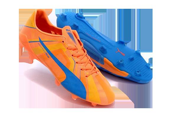 Puma Evospeed FG Оранжевые с Синим