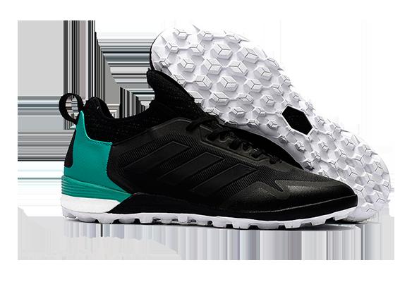Adidas Ace Tango 17+ Purecontrol TF Черные с Бирюзовым