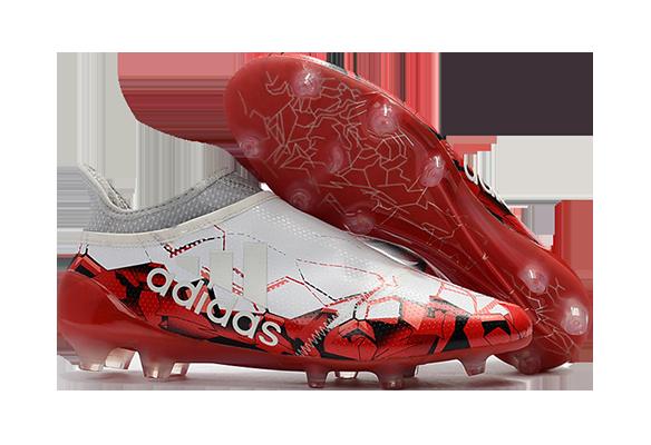 Adidas X 17+ Purespeed Confed Cup FG белые с красным